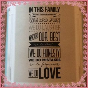 Wall Art - NWT in this family wall decal set
